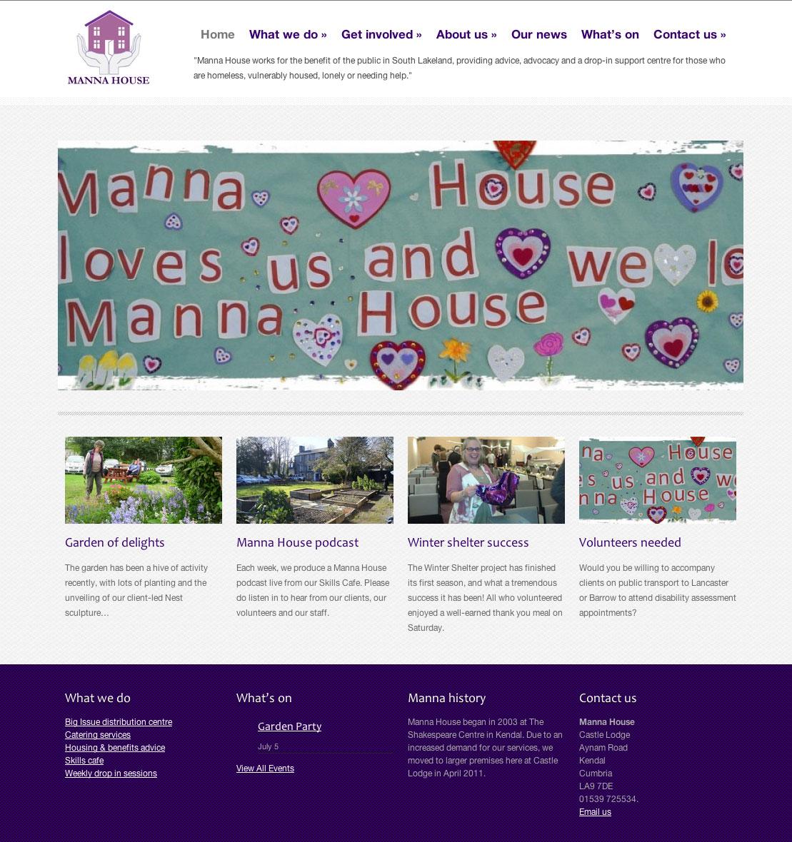Website design details