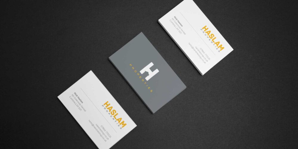 business Card design for Haslam Properties