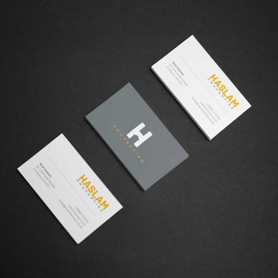 business Card design for Haslam Properties