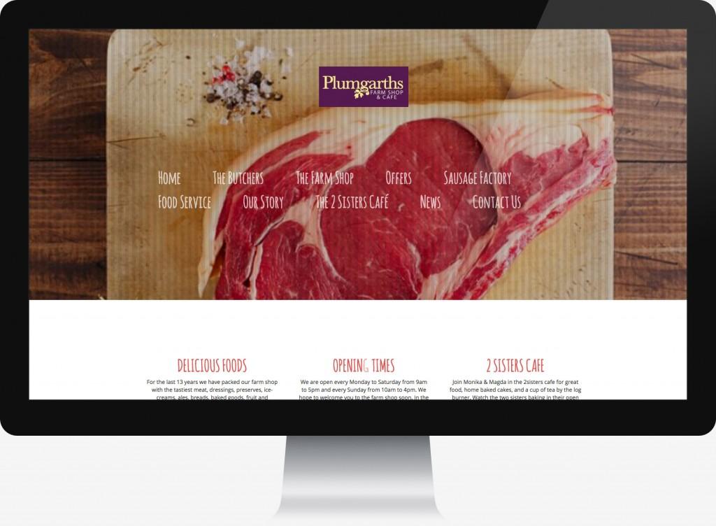 Butchers eCommerce web homepage