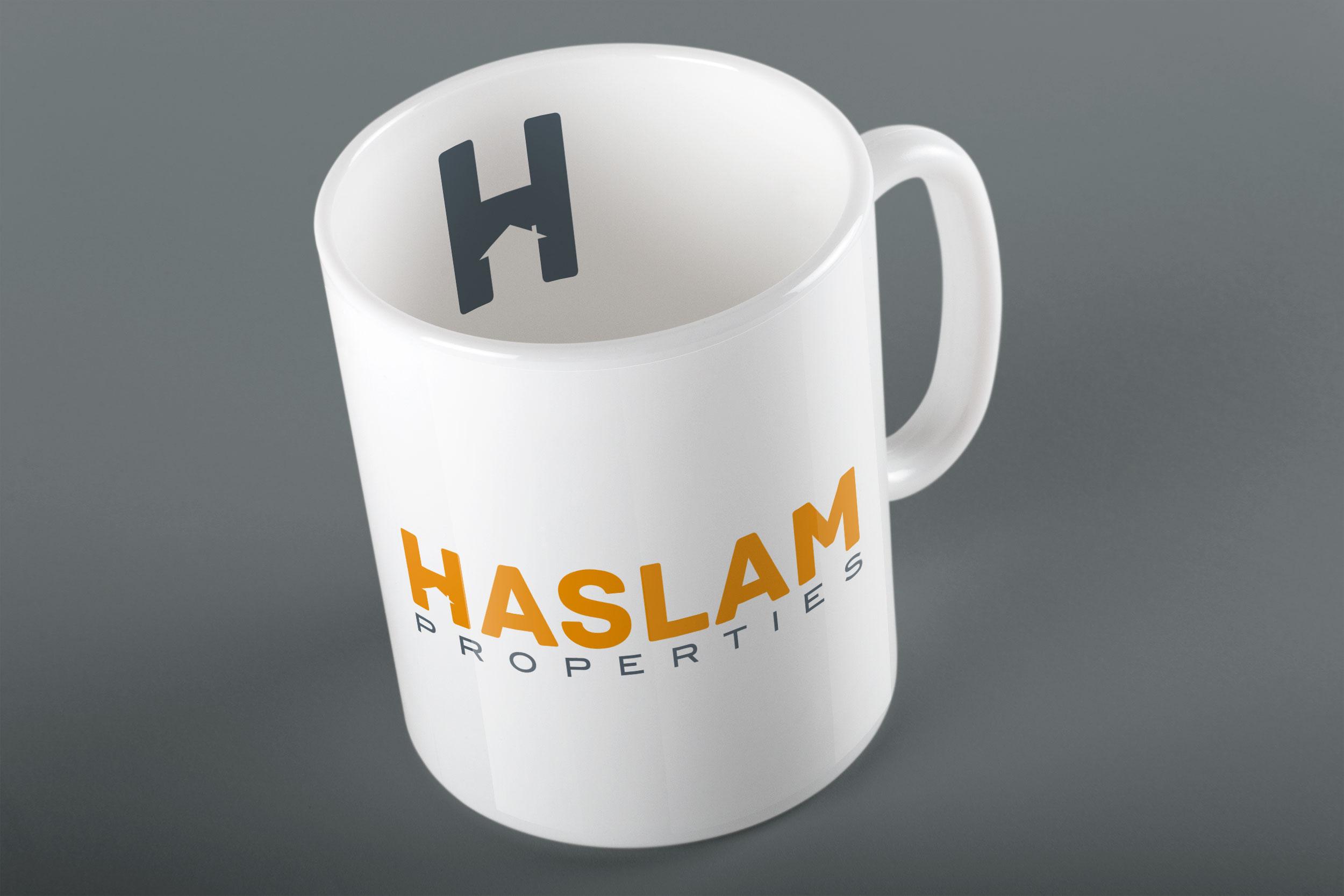 Haslam Properties print design.