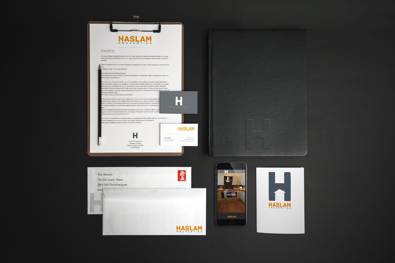 Branding design for Haslam Properties