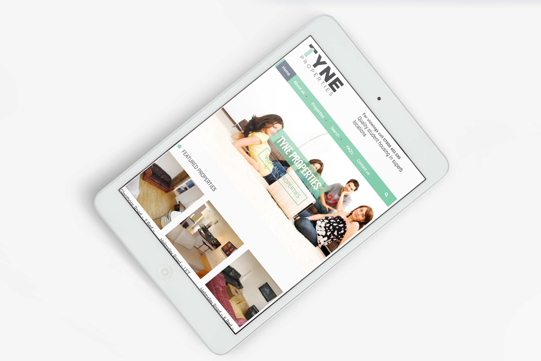 Mobile design for website.