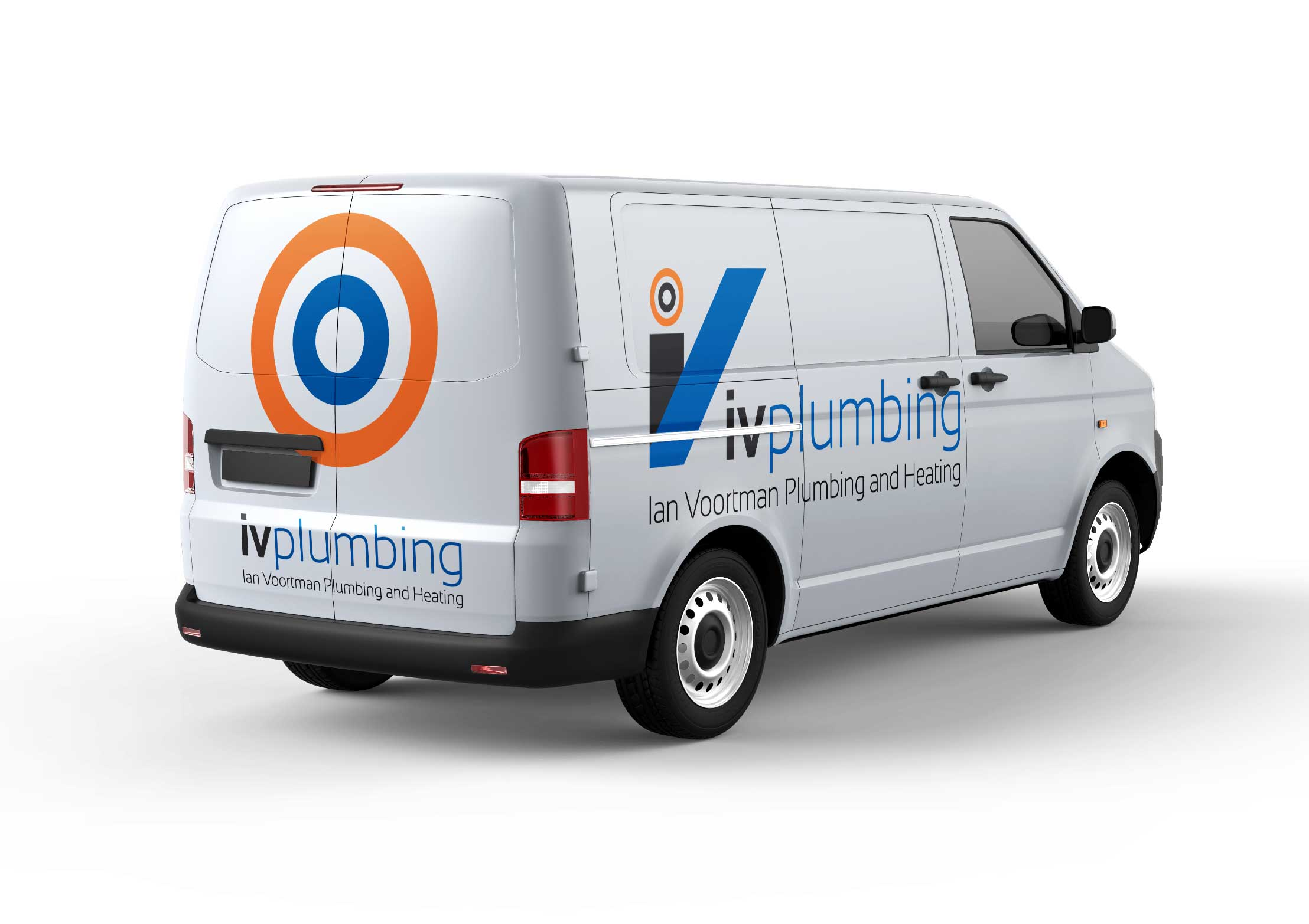 Van graphics for local heating engineer