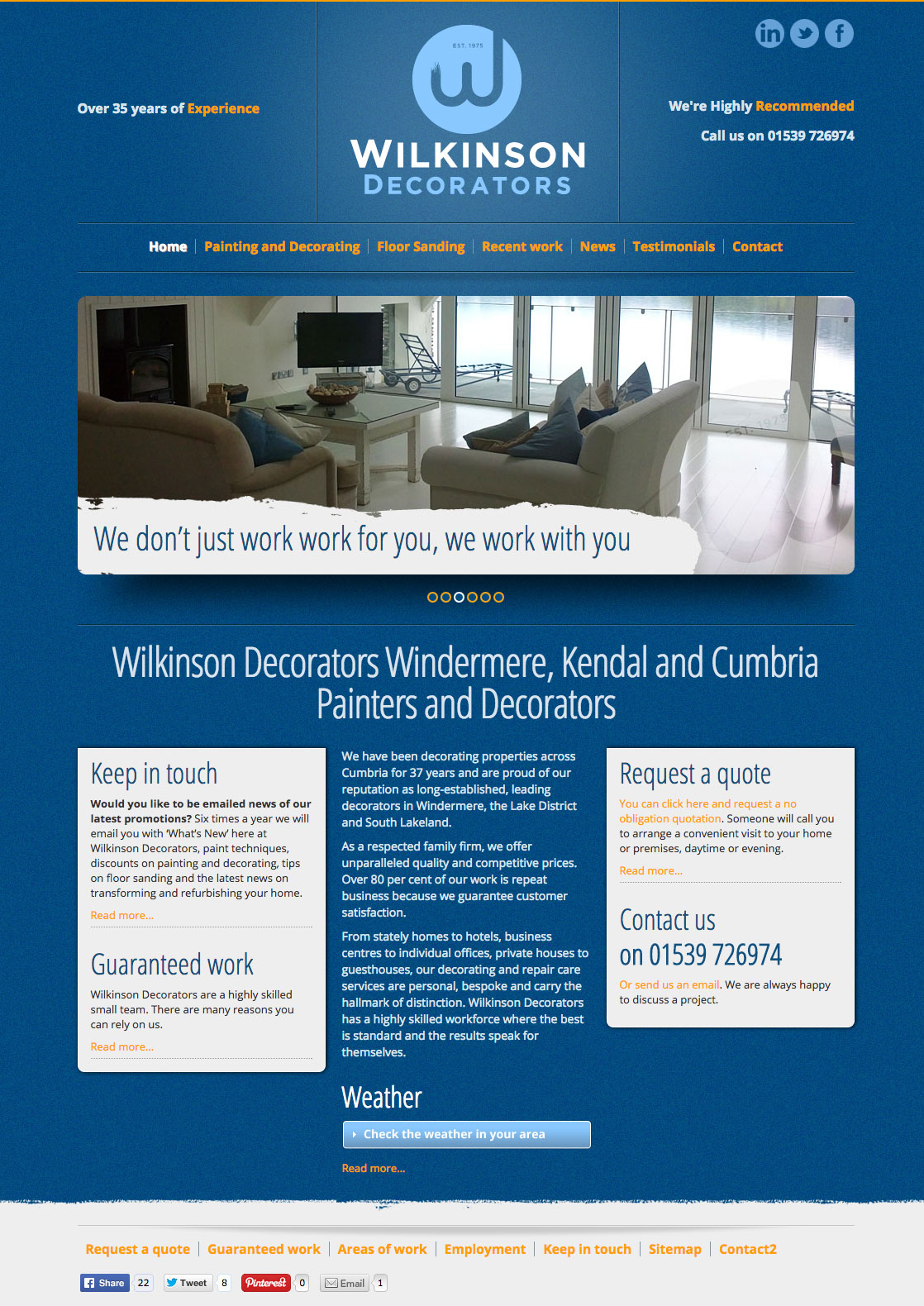 Web design for local company