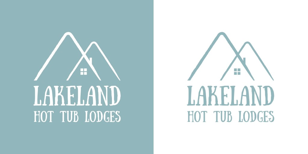 Logo design for Lakeland Hot Tub Lodges